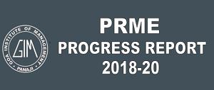 PRME Report
